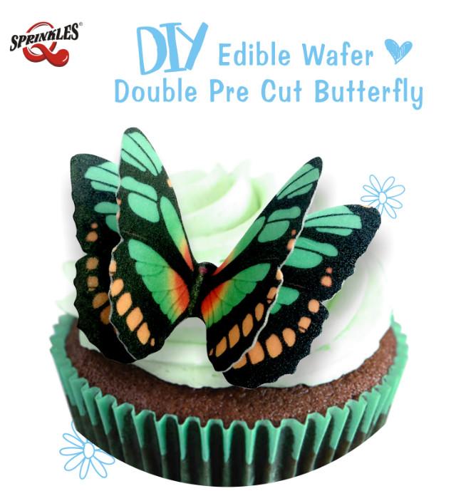Edible Wafer butterflies.jpg